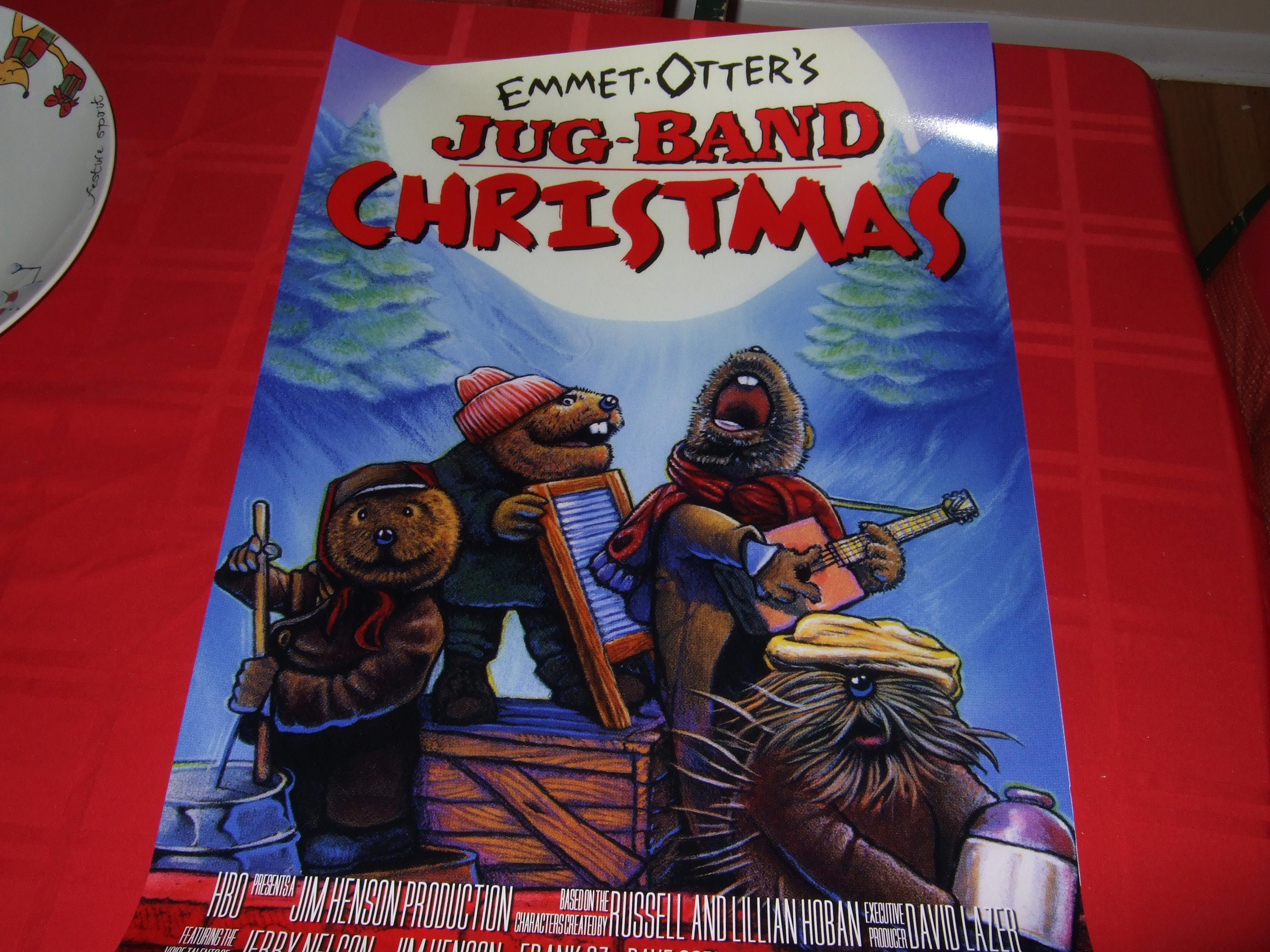 LE Emmet Otter Movie Poster (c) 2011 - 2017 Video Game Obsession