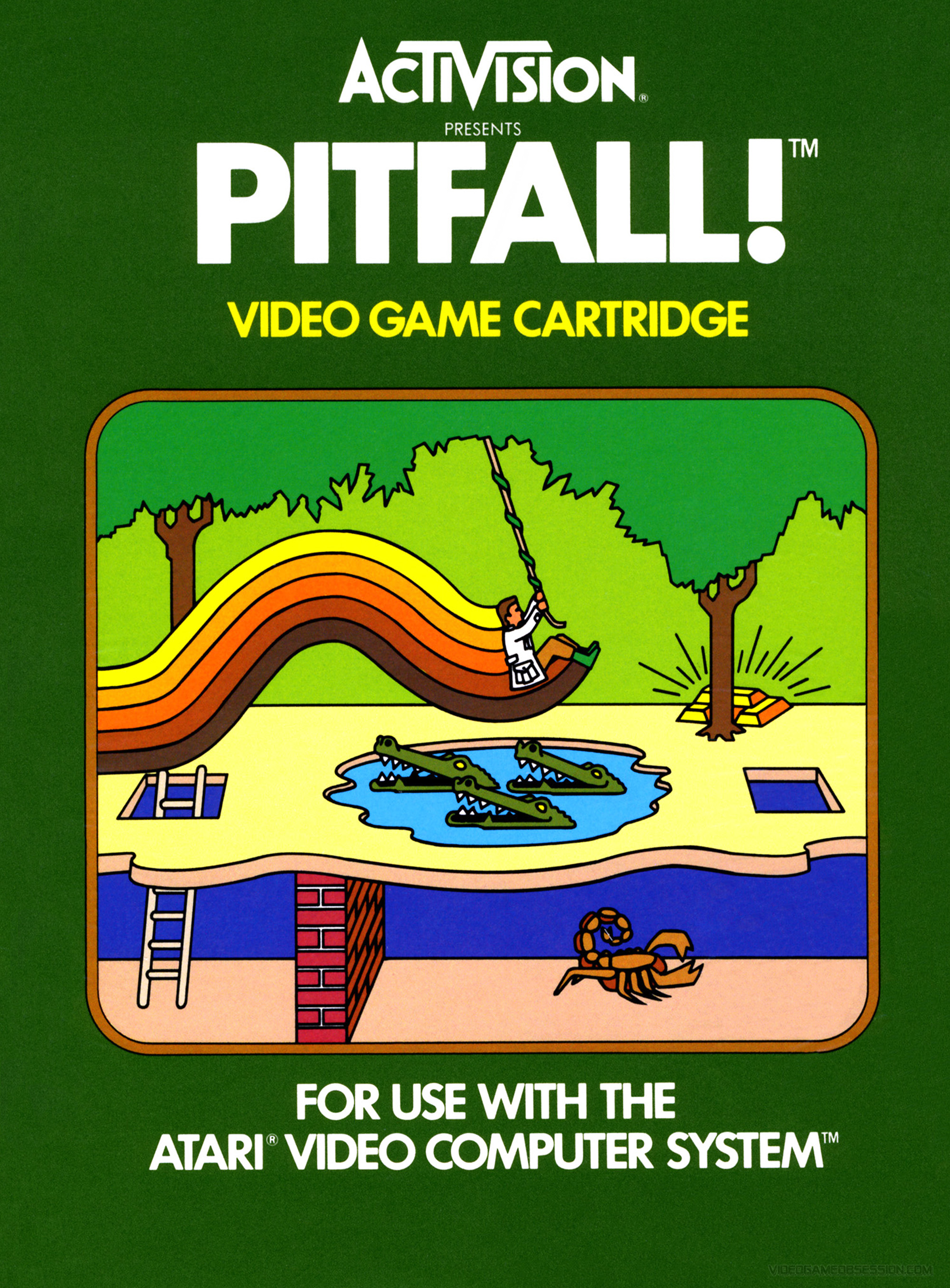 Atari 2600 Vcs Mr Do Scans Dump Download: Atari 2600 Collection @ Video Game Obsession (c) Matthew