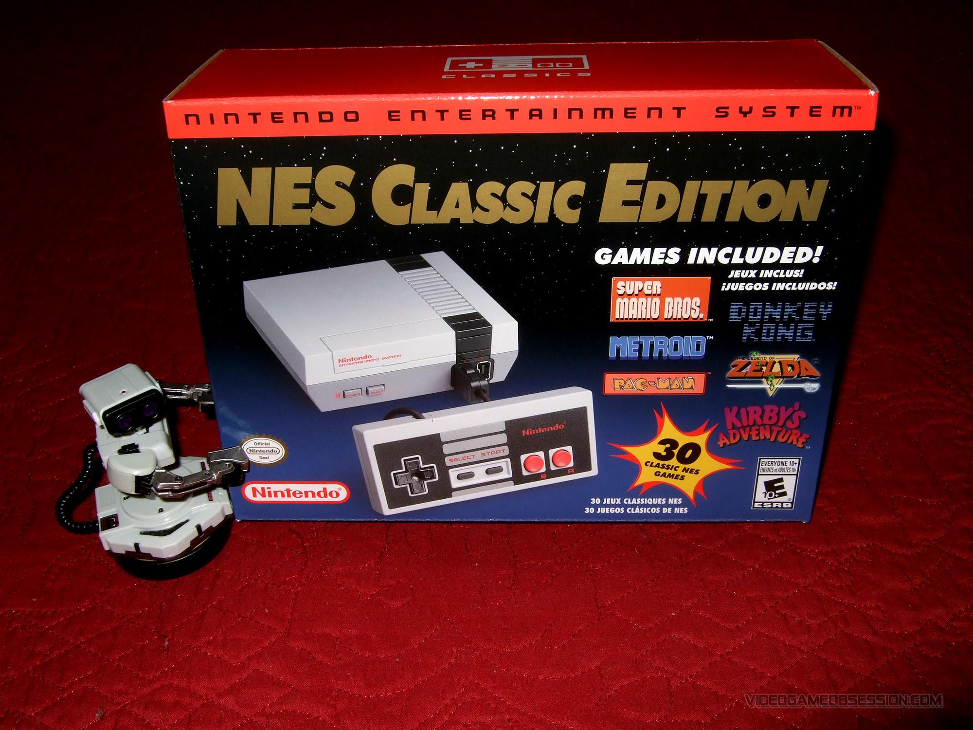 Nintendo Nes Classic Edition Famicom Classic Mini Video Game