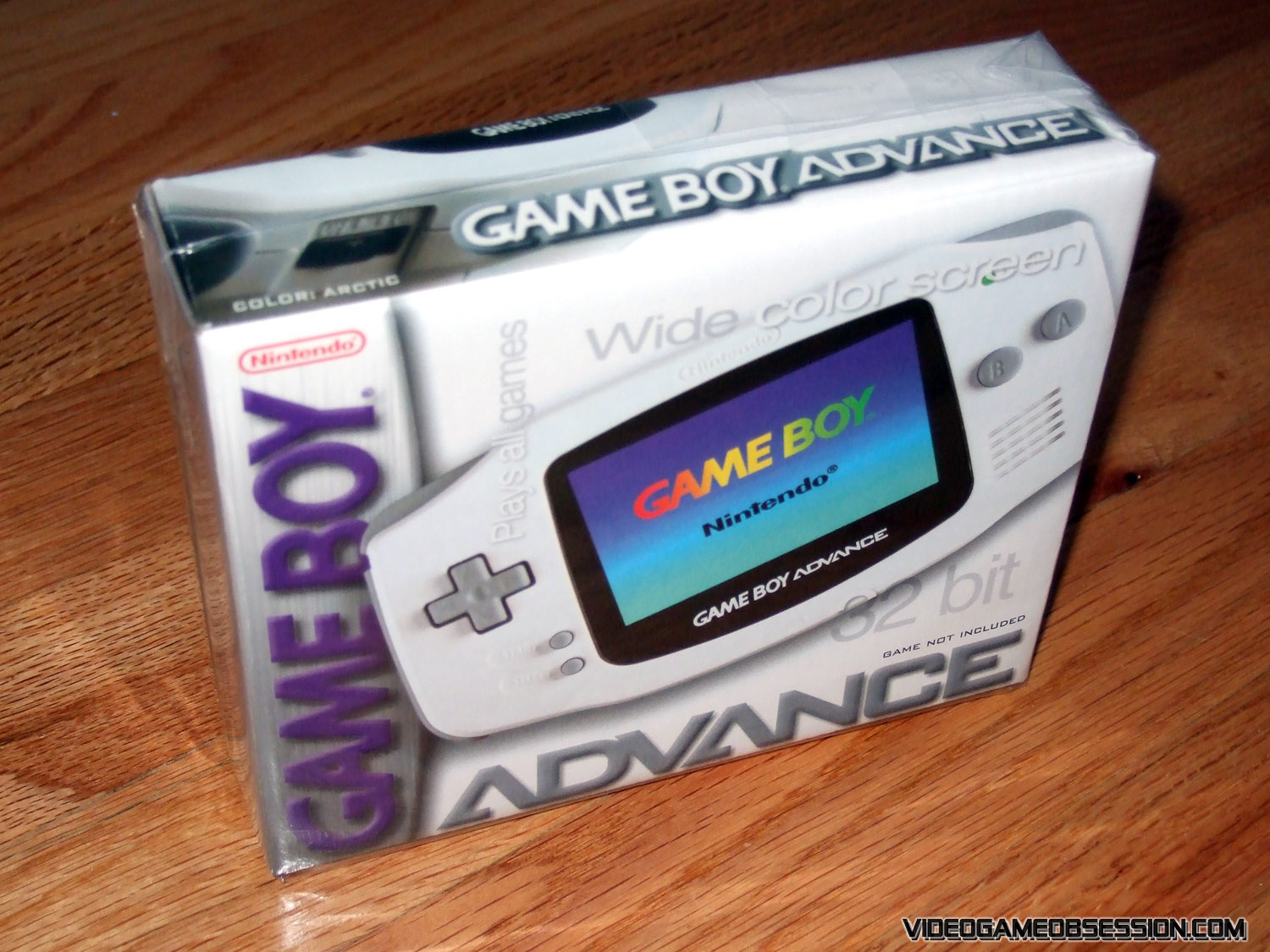 Game Boy Advance Hardware @ Video Game Obsession (c) 1996