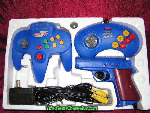 Power Player Super Joystick & Power Gun (Famiclone ...