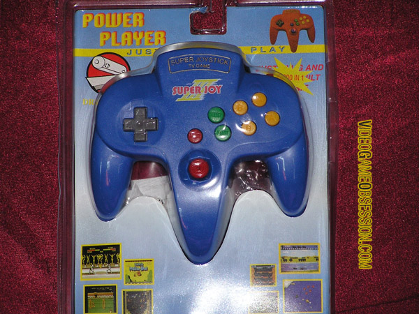 Super Joy III Power Player @ Video Game Obsession (c) 1996 ...