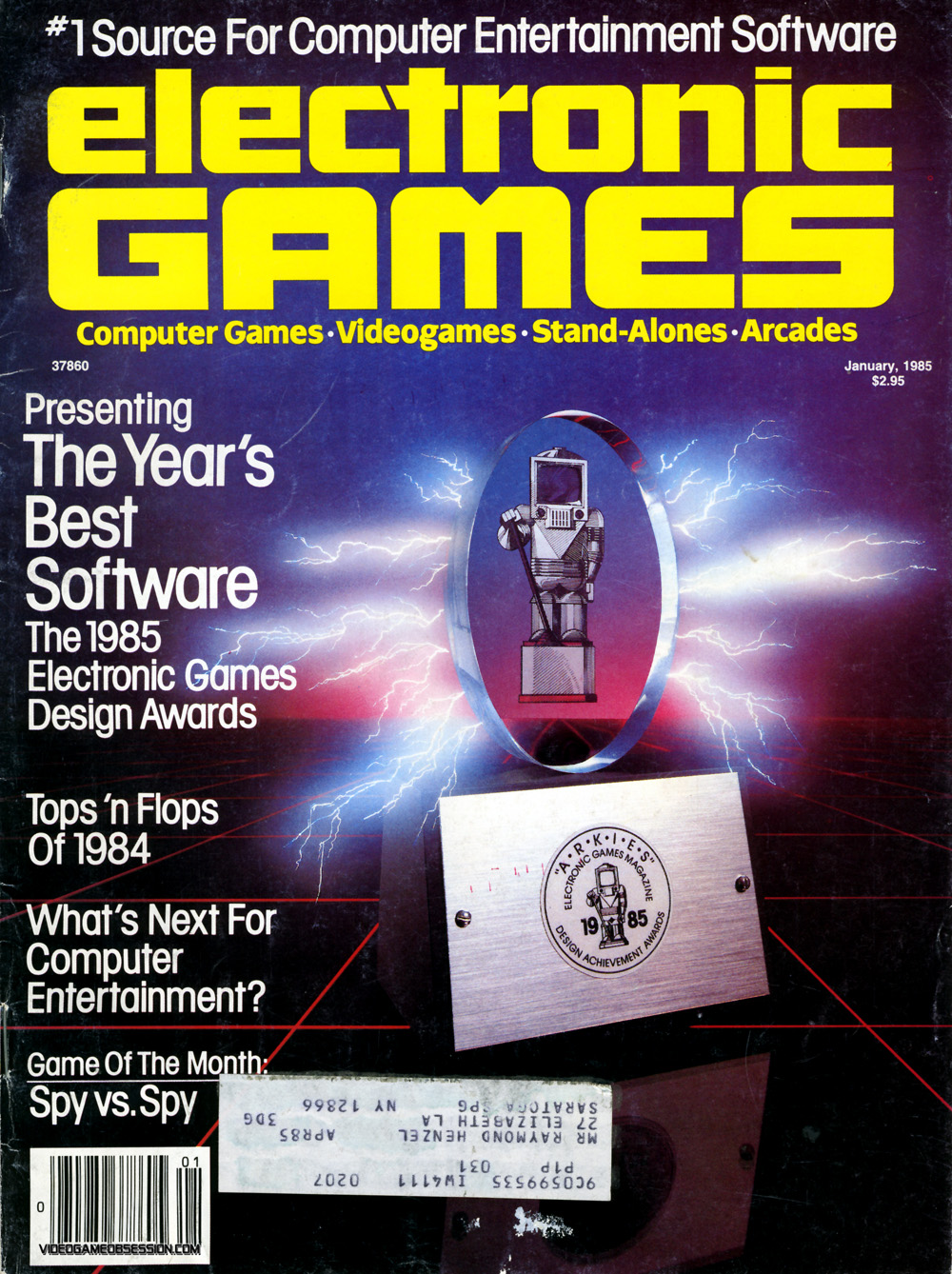 Electronic Games Magazine @ VideoGameObsession.com (c