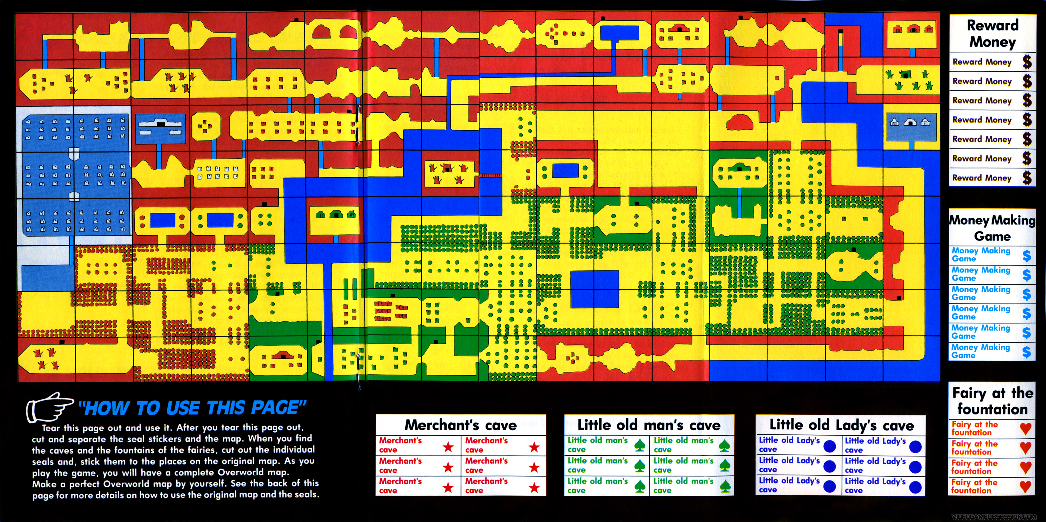 Best Loz Nes Map Images - Printable Map - New - bartosandrini.com
