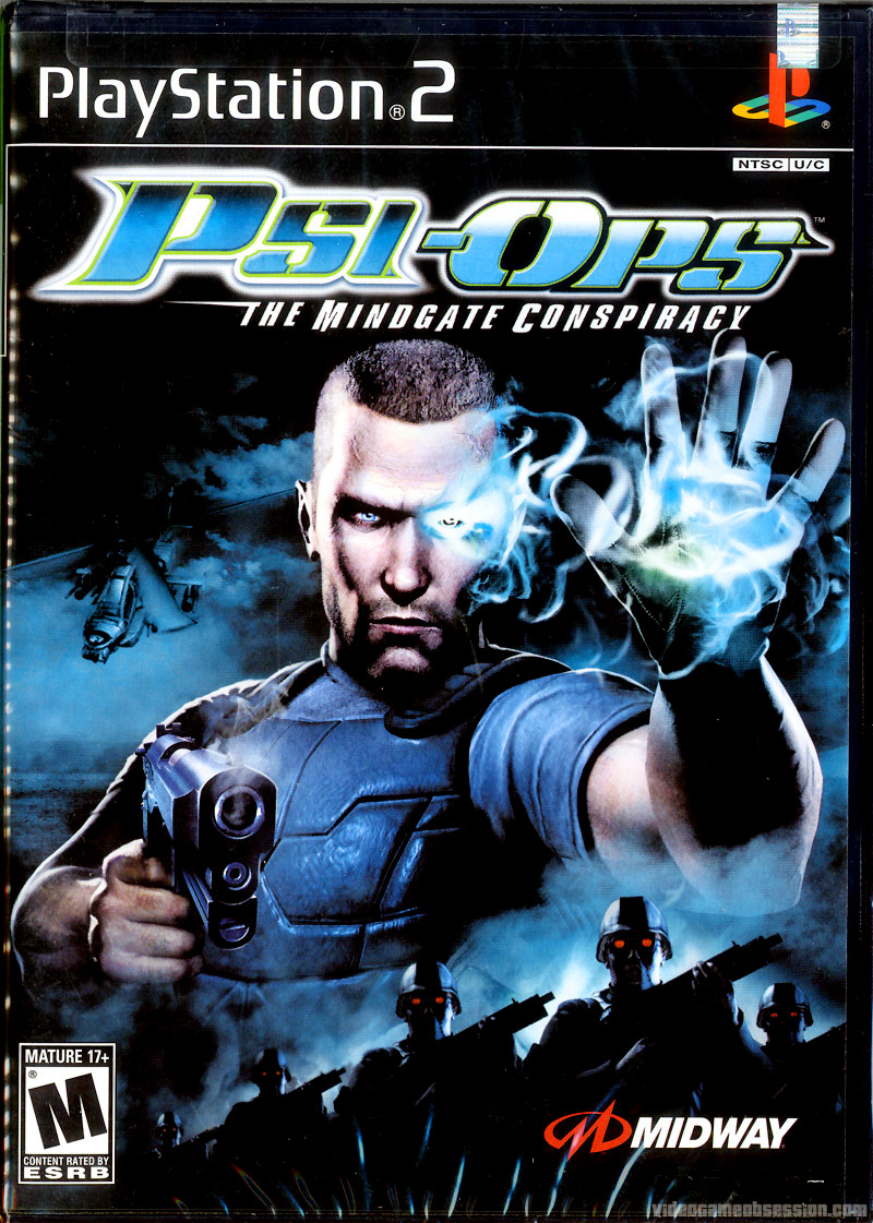 Psi-Ops Врата разума / Psi-Ops The Mindgate Conspiracy (2005) PC