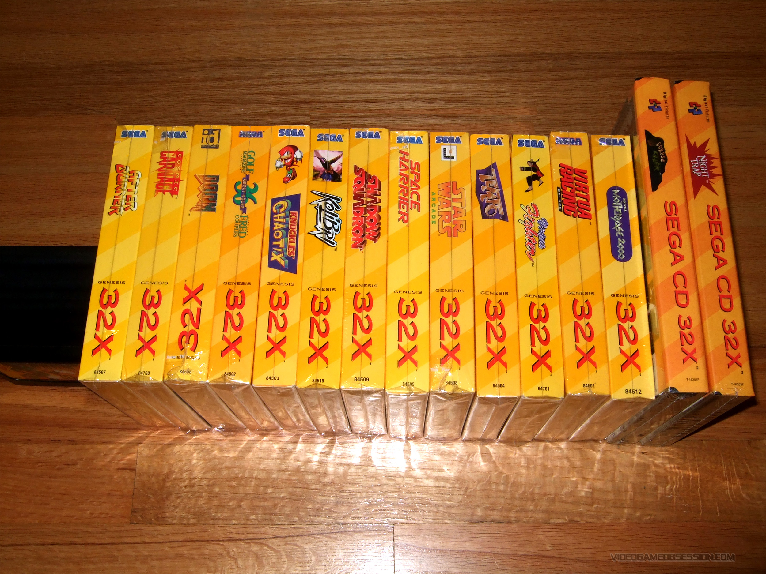 Sega 32x Collection Video Game Obsession C Matthew Henzel