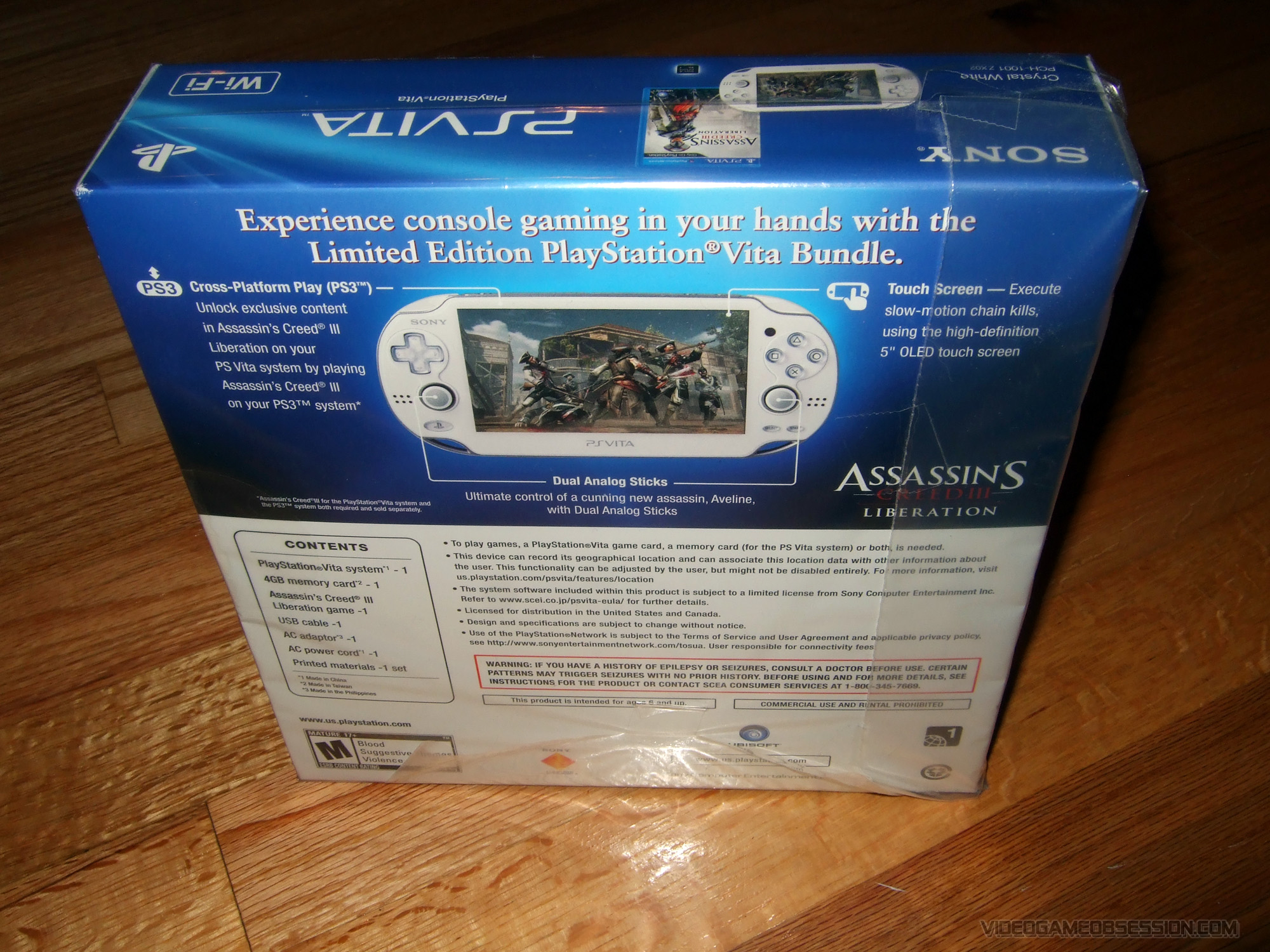 Playstation Vita Tv Hardware Video Game Obsession C Cystal Case Ps Hori Silicone Protector Screen Protective Filter Pdp Psvita Custom Crystal