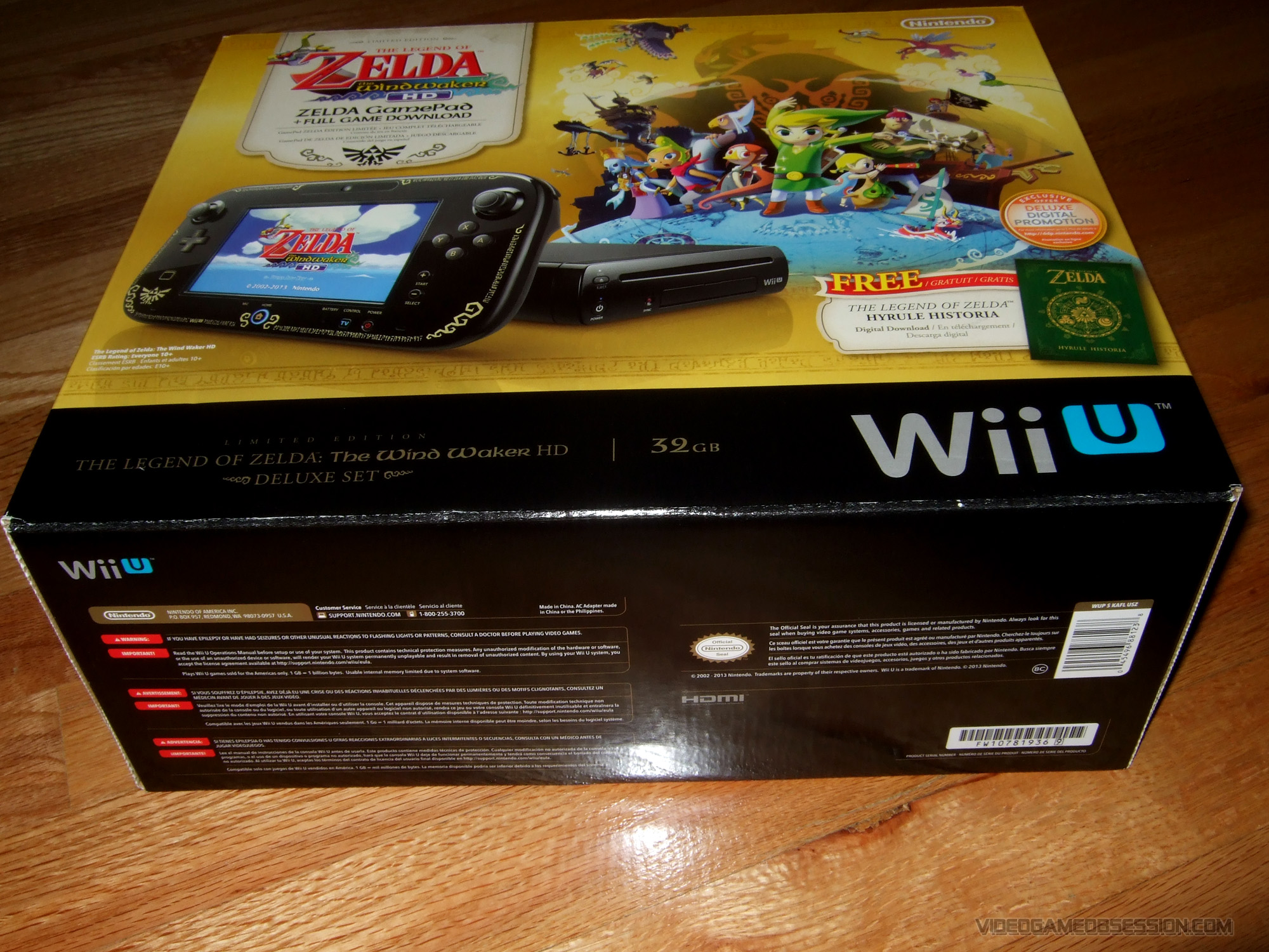 Nintendo Wii U Hardware Page Video Game Obsession C