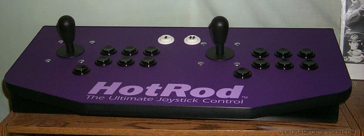 Hanaho Hotrod SE Arcade Stick @ Video Game Obsession (c) Matthew Henzel